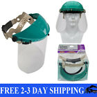 Safety Face Shield Clear Grinding Full Mask Eye Protection Tool Painting Glasses