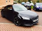 Audi TT 20 TFSI Black with Beige Leather fully loaded 19in Alloys