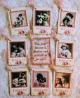 Set of 9 Hang Tags Vintage Mothers Day Scrapbook Cards Embellish Gift Tags 231
