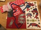 Pre Made 12 X 12 Scrapbooking Pages Spider Man