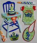 Boys 1st Birthday 6 Pcs Dimensional Stickers Jolees Boutique Free Shipping NIP