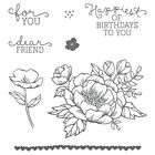 Happy Birthday Transparent Clear Silicone Stamp Seal for DIY scrapbooking photo