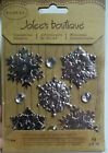Snowflakes 9 Pcs Dimensional Stickers Jolees Boutique Free Shipping NIP