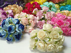 10 of Rose Flower Mulberry Paper Scrapbooking Card Crafts 3 350cm Many Color
