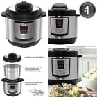 6 In 1 Multi Use Programmable Pressure Cooker Slow Cook 8 Quart Safety Lid Lock