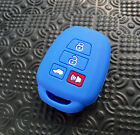 4 Button Fit For Toyota Corolla Camry Rav4 2018 Silicone Key Cover Shell Case
