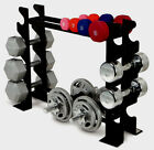 Dumbbell Rack Multiple compact Heavy Duty Organiser Weight Stand Kettlebell Set