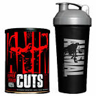Universal ANIMAL CUTS Ultimate Fat Burning Stack 42 packs+Official Animal Shaker