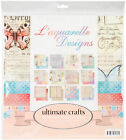 Artdeco Creations Ultimate Crafts Double Sided Paper Pad 12X12 24 Pkg LAquare