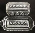 Wexford BUTTER DISH WITH LID Diamond Pattern