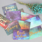 Lucky Bless Greeting Card Starry Message Card Birthday Card 1 5 10Pcs Fashion