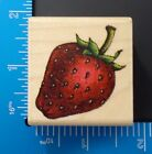 Rubber Stampede Wood Mounted Rubber Stamp Strawberry A898C