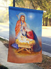 Carolines Treasures APH3905CHF Christmas Nativity Flag Canvas House Size