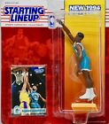 1994 Kenner / Starting Lineup - NBA Alonzo Mourning #33 Charlotte Hornets Mint