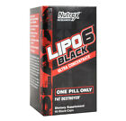 Nutrex Lipo 6 Black Ultra Concentrate Fat Burner 60 Capsules No BMPEA