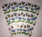 Sandylion stickers bugs lot of 5 SHEETS 2 X 6 New stickers