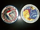 VINTAGE 1976 NASA APOLLO 15 AND 17 MISSION PATCH LION BROTHERS BRAND NEW