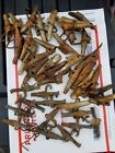 40 Maple Syrup Spouts Sap Bucket SPILES metal plus alum. with many hooks 7th lot