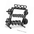 Combo Weights Storage Rack Dumbbell Kettlebell Weight Lifting Plates Gym Rack