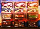 Hot Wheels RLC Red Line Club Series 9 Real Riders Drag Truck Thunder Roller +