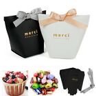 20Pcs Paper Candy Chocolate Sugar Cake Boxes Gift Bag Wedding Favors Party Decor