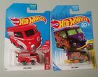 Hot Wheels VW Kool Kombi Lot of 2 2018 TH and 2017 Red Edition