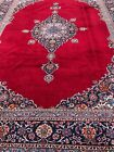 Antique Hand-Knotted Rug, Museum Piece, Central Medallion, Kork,Large, 10'x13'