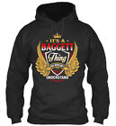 Its A Baggett Thing - Bagget You Wouldnt Understand Standard College Hoodie