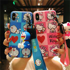Cartoon Cute Hello Kitty Silicone Soft Case Cover For iPhone XS MAX 6 7 8 Plus