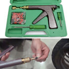 Motorcycle Tire Plugger Tubeless Tyre Wheel Repair Gun Kit Plug Rubber Brilliant