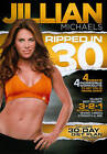 Jillian Michaels Ripped in 30 Exercise Workout Fitness DVD Brand New in Wrap