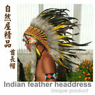 Feather Headdress Indian Headdress Native American Feather Warbonnet cosplay
