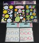 Baby Scrapbooking Lot of 5 New Sticko  Jolees Boutique Sticker Packages