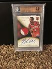2013-14 PANINI IMMACULATE RC 99 MICHAEL CARTER-WILLIAMS AUTO PATCH BGS 9.5 10