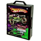 Hot Wheels Monster Jam Truck Case Carrying Handle Sturdy Design Store Up To 15