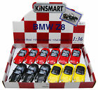 BMW Z8 SOFT TOP CONVERTIBLE DIECAST CAR BOX OF 12 1 36 SCALE ASSORTED