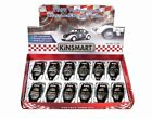 BOX OF 12 DIECAST CARS 1967 VOLKSWAGEN CLASSICAL BEETLE POLICE CAR 1 32 SCALE
