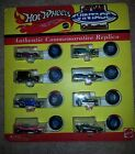 Hot Wheels 1993 Vintage Collection 8 car set