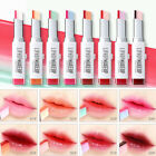 Double Color Lip Balm Shimmer Maleup Lasting Lipstick Women Cosmetic 8Color Sexy