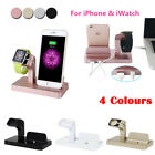 Desktop Charging Stand Dock Station Cradle Charger for iWatch iPhone Xs Max X 8+