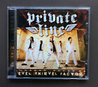 PRIVATE LINE Evel Knievel Factor CD Like NEW Condition 2006 11 Tracks Glam Rock