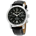 Wenger Urban Classic Black Dial Leather Strap Men's Watch 011043112