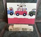 MOVING DAY Chair LOADS OF LOVE PICK UP truck Female Stampin Up + BONUS card Lot