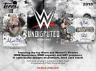 2018 Topps WWE Undisputed Wrestling Factory Sealed Hobby Box