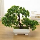 Mini Trigeminal Welcoming Pine Small Potted Artificial Flower Home Wedding Decor