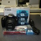 Canon EOS Rebel T3 1100D DSLR Camera with EF S 18 55 IS II Lens