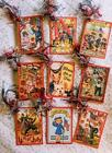 Set of 9 Hang Gift Tags Vintage 4th July Scrapbooking Cards 239 judysjemscrafts