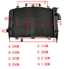 Engine Cooling Radiator for Kawasaki Ninja ZX6RR ZX6R ZX600 ZX636 2003 2004