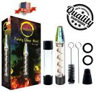 Twisty Glass Blunt Kit New Design With Replacement Parts And Cleaning Tools USA