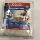 Vintage NOS Sunbeam Electric Heated Warming Blanket Full Size